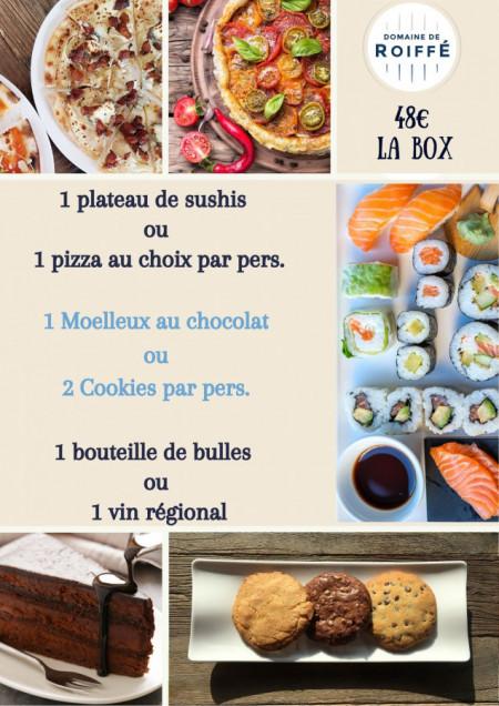 Sushi Nacht oder Pizza Nacht?