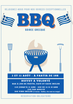 Greek barbecue party